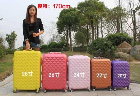 一个人短途旅游5-6天,18寸拉杆箱够吗?-爱自由箱包