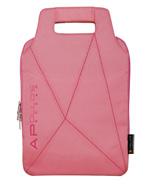 粉红色平板电脑手提包