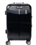 黑色20寸pc拉杆行李箱定制